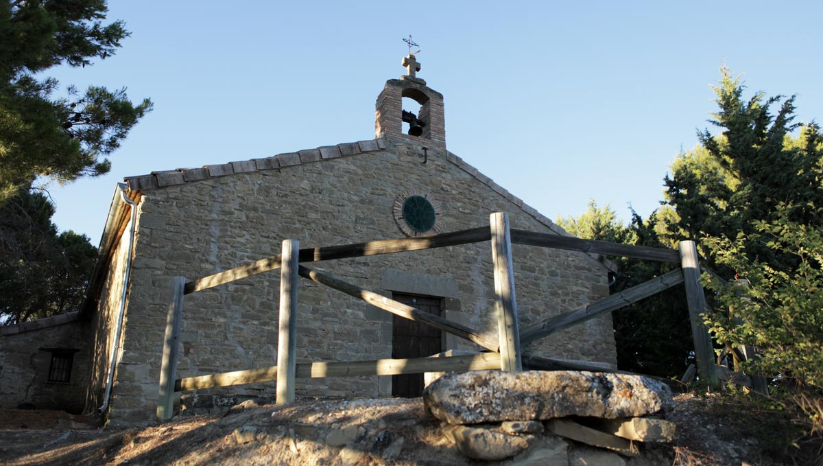 Ermita de Santa Bárbara de Eslava