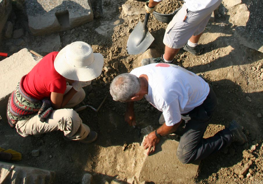 Cuarta Campaña de Excavación en Santa Criz de Eslava