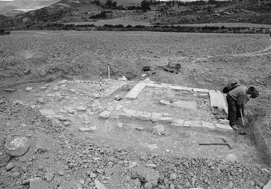 Primera Campaña de Excavación en Santa Criz de Eslava