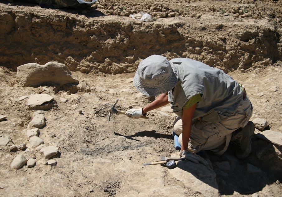 Segunda Campaña de Excavación en Santa Criz de Eslava