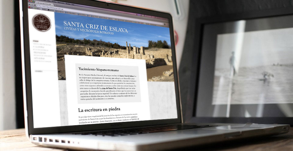Web de Santa Criz de Eslava