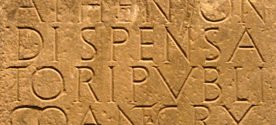 Inscripción de Santa Criz de Eslava