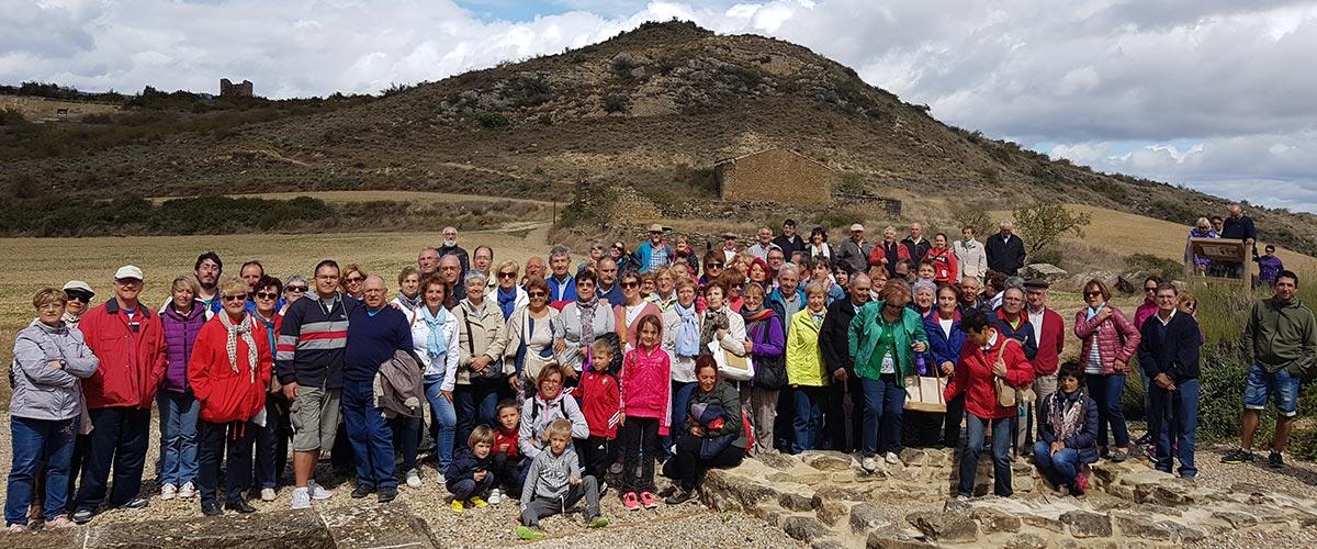 Santa Criz de Eslava, la villa romana de Liédena y Los Bañales, hermanados
