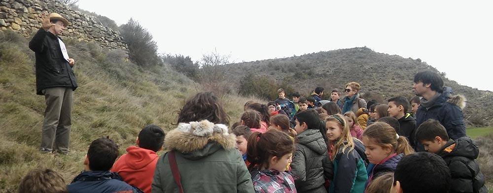 Escolares del Colegio Público Luis Gil