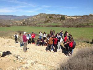 Estudiantes de las Jesuitinas de Pamplona