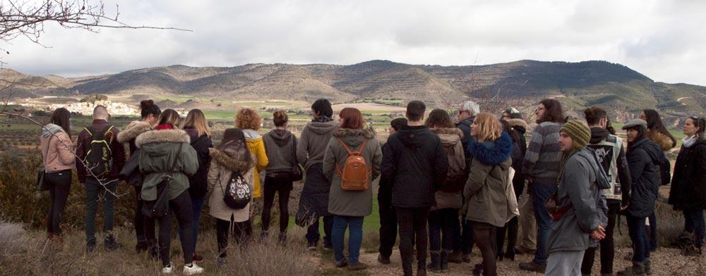 Los alumnos de la Escuela de Arte de Pamplona