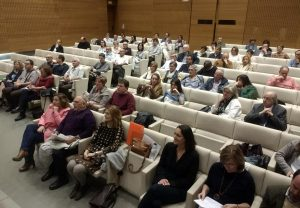 Éxito de la presentación de Santa Criz de Eslava en el CiviCAN de Pamplona