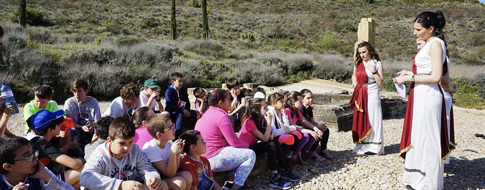 Santa Criz cobra vida de la mano de la Facultad de Educación y Psicología de la Universidad de Navarra