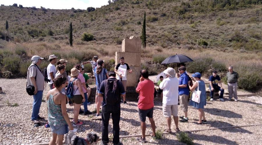 Alrededor de 300 visitantes, en visitas guiadas, pasan este verano por Santa Criz de Eslava
